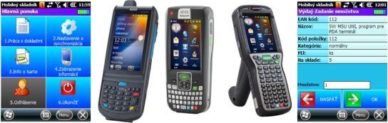 MSU a PDA na web